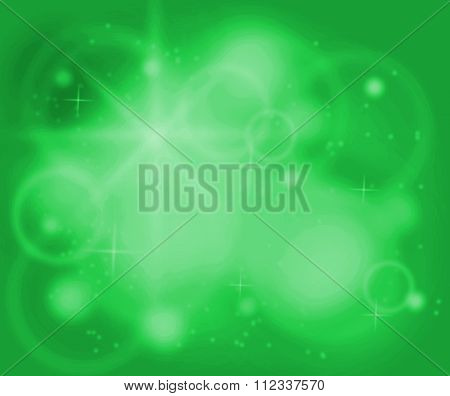 Chakra Green Color