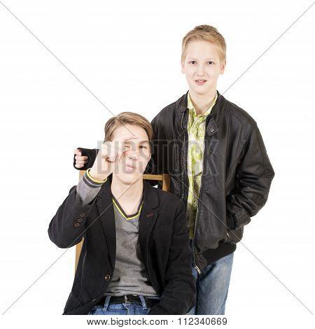 Caucasian Teen Boys