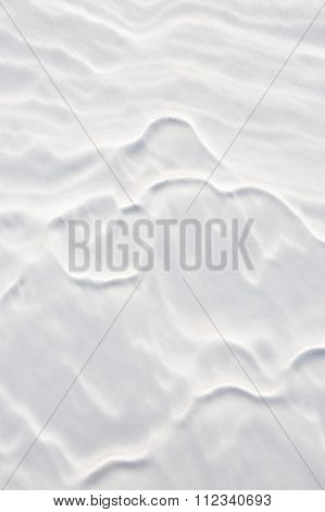 Natural Snow Background.