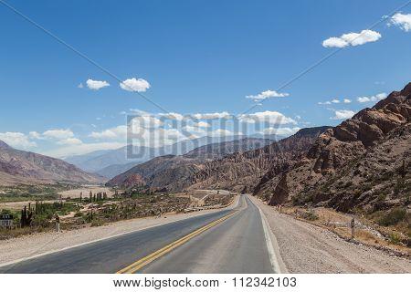 Route 9 in Northwest Argentina