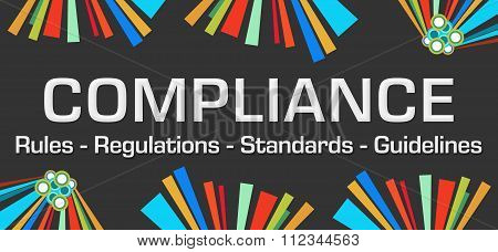 Compliance Dark Colorful Elements