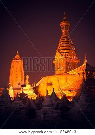 Swayambhunath Stupa,Kathmandu