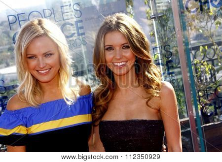 Malin Akerman and Audrina Patridge at the People's Choice Awards Press Conference held at the London Hotel in West Hollywood, California, United States on November 9, 2010.