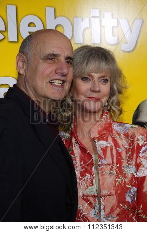 HOLLYWOOD, CALIFORNIA - March 14, 2011. Jeffrey Tambor and Blythe Danner at the Los Angeles premiere of