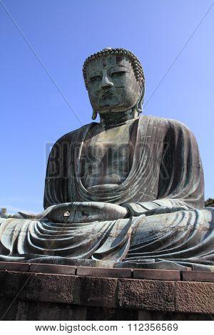 The Great Buddha in Kamakura, Kanagawa, Japan
