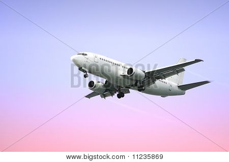 Passenger Airplane Jet