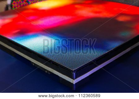 Side Of The Panel Of Led Smd Screen