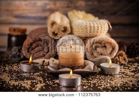 Spa And Wellness Setting