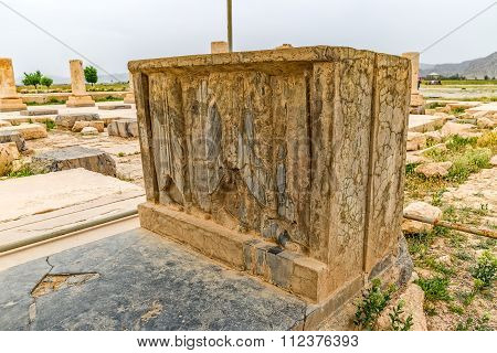 Pasargadae relief remains