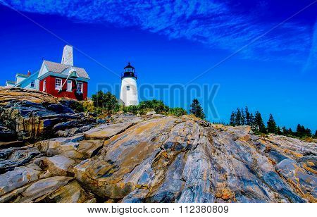 Pemaquid Point Lighthouse-hdr