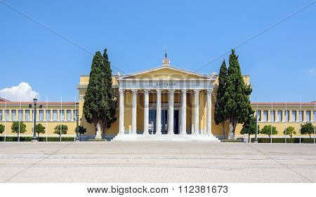 Zappeion Hall in Athens, Greece