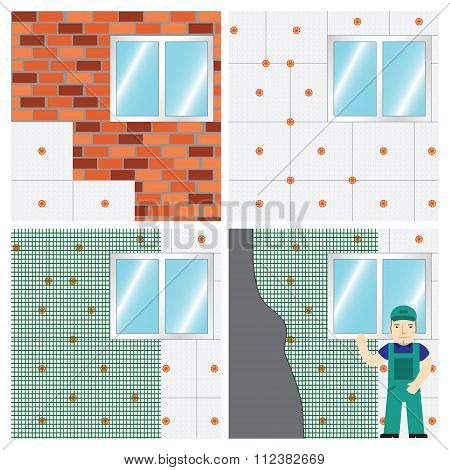 How To Insulate A Wall.