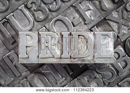 Pride Word Metallic