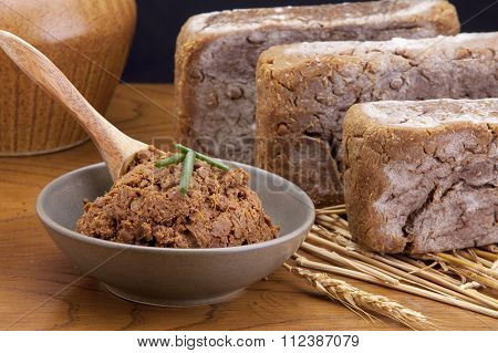 Brown Soy Bean Paste.