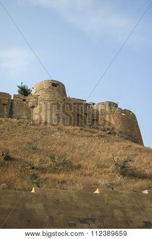 Different Parts Of Golden Fort Of Jaisalmer.