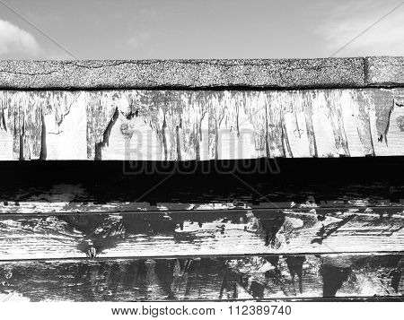 stables broken and rotten wooden background