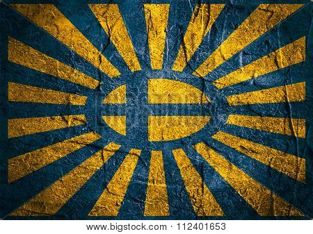 Sweden National Flag Abstraction