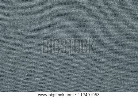 Textured Background Fabric Of Silvery Gray Color