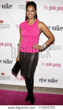 SANTA MONICA, CALIFORNIA - September 12, 2009. Garcelle Beauvais at the 5th Annual Pink Party held at the La Cachette Bistro, Santa Monica, Los Angeles.