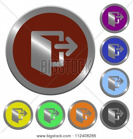 Color Logout Buttons