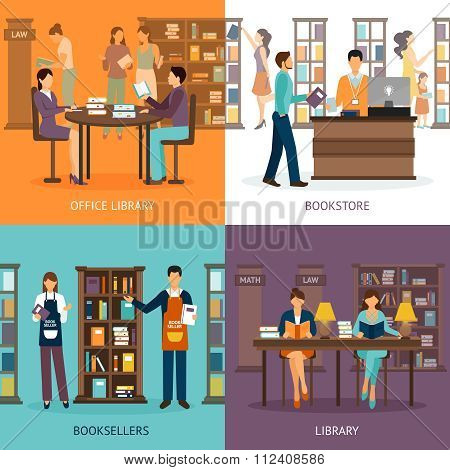 Library Service 2x2 Set