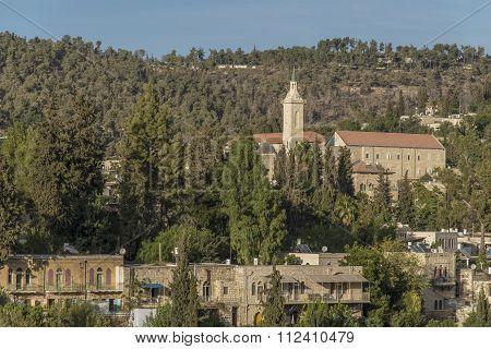 Ein Kerem village, Jerusalem, Israel