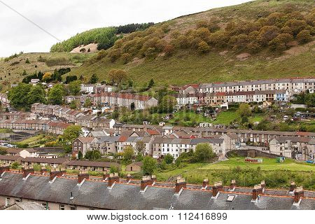 Welsh Village Of Cwmtwrch