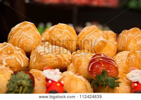 Sweet Eclair With Stuffing
