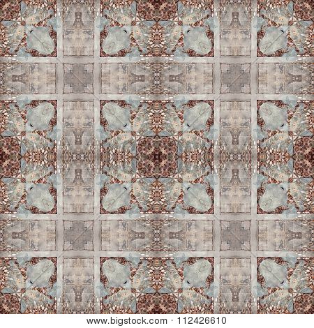 Abstract Seamless Pattern Background. Cobble Stone, Chips, Pebble Texture