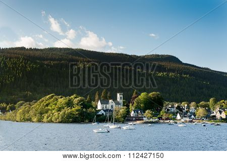 Kenmore and Loch Tay in Scotland