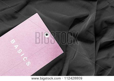Label On Cloth