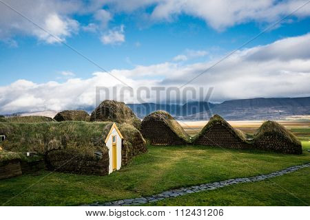 Traditional viking house