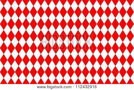Abstract Geometric Seamless Pattern Of Rhombus