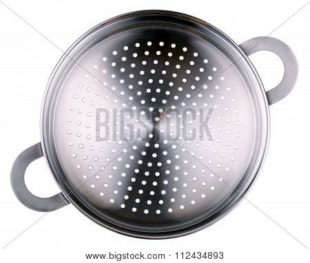 Double Boiler For The Gas Cooker Isolated