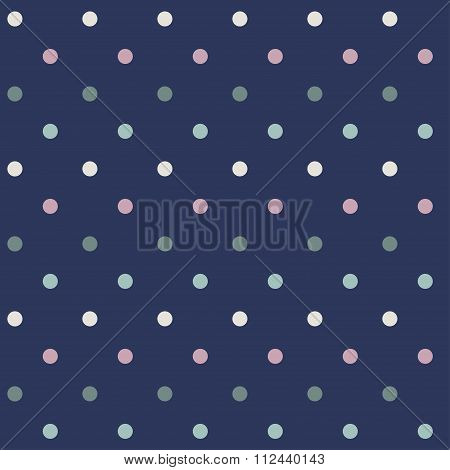 Vector Seamless Pattern With Small Peas.