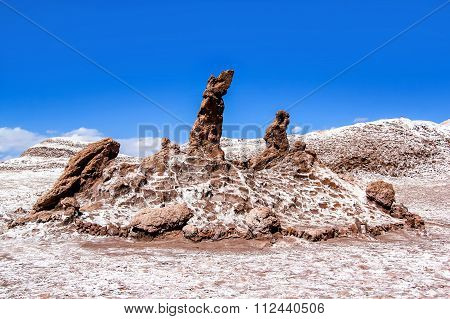 The Three Marys In The Valle De La Luna