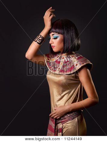 Portrait Of A Beautiful Egyptian Woman