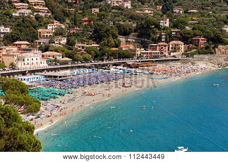 Bonassola Beach - Liguria - Italy