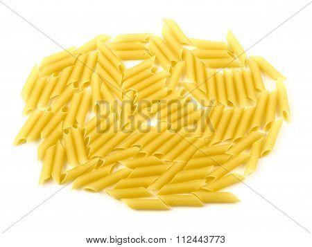 Raw Uncooked Pasta Macaroni