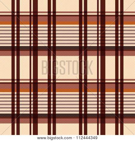 Rectangular Seamless Pattern In Beige And Brown