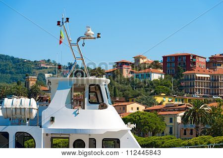 Ferry Boat For Cinque Terre In Lerici