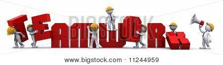 Business Teamwork Building Concept.