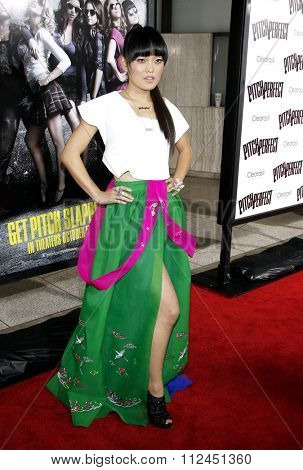 Hana Mae Lee at the Los Angeles premiere of