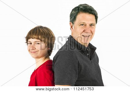 Father And Happy Son