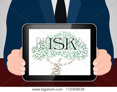Isk Currency Means Foreign Exchange And Coinage