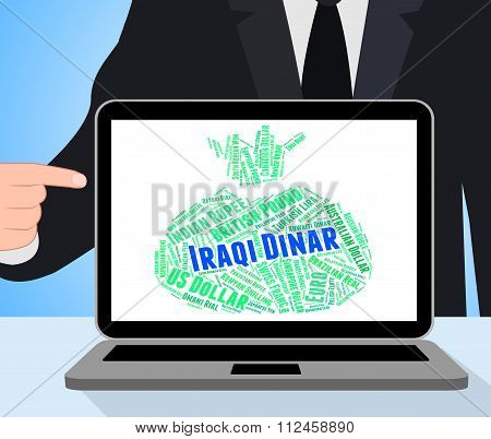 Iraqi Dinar Shows Foreign Exchange And Broker