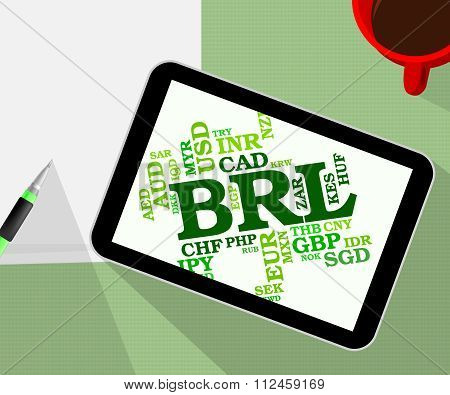 Brl Forex Represents Brazil Real And Coin
