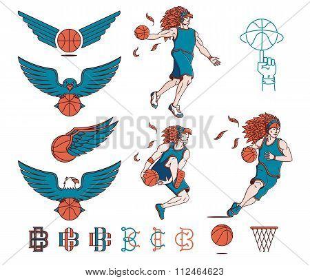 Basketball Bundle Colored