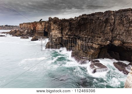 Boca Do Inferno In Cascais