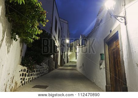 Colorful Streets Of Arucas